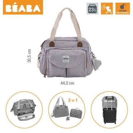 Beaba Torba dla mamy Geneva SMART COLORS grey