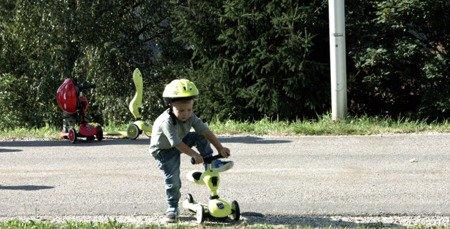 SCOOTANDRIDE Highwaykick1 2w1 Jeździk i hulajnoga 1-5 lat Red