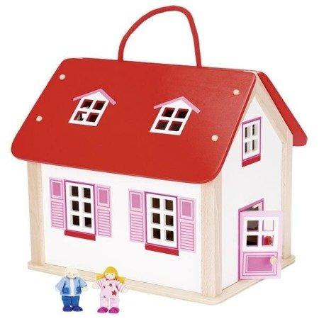 Domek dla lalek z uchwytem