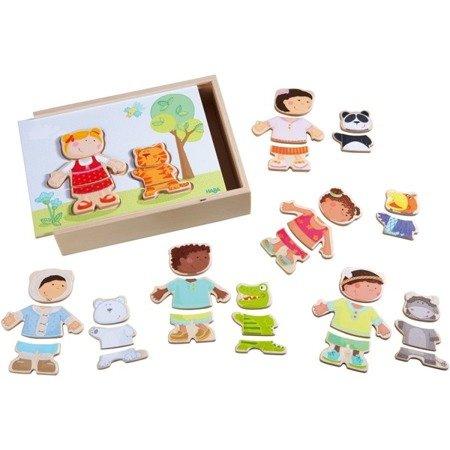 Drewniane Puzzle Dzieci Świata