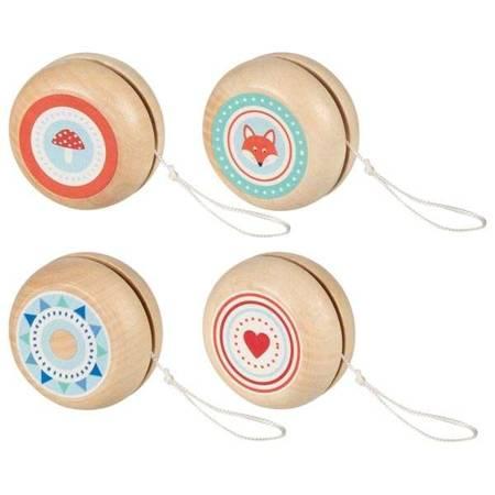 Drewniane Yo-Yo ze zwierzętami Goki