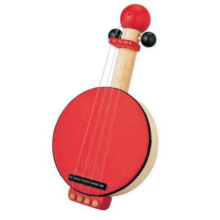 Drewniane banjo, zabawka muzyczna, Plan Toys®