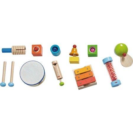 Duży zestaw instrumentów muzycznych