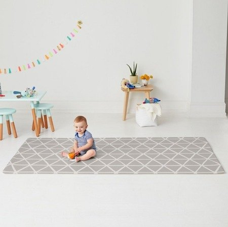 Dwustronny dywan piankowy Wesołe Podwórko