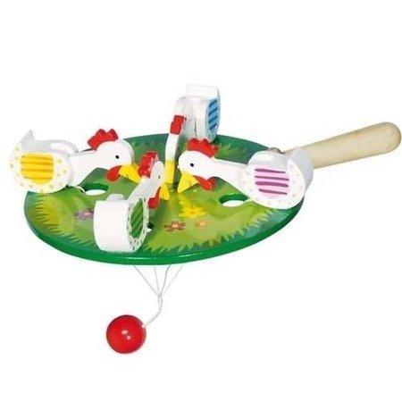 Dziobiące kurki, gra zręcznościowa, Goki 53915
