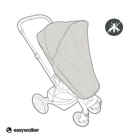 Easywalker Harvey/Harvey2 Moskitiera na siedzisko wózka