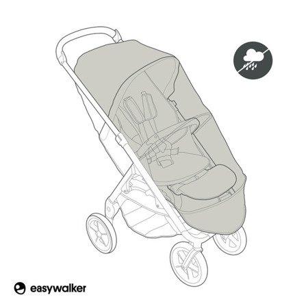 Easywalker Mosey+ Osłona przeciwdeszczowa na siedzisko wózka