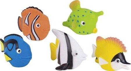 Gumowe zwierzątka rybki,zabawki do kąpieli, Goki