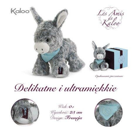 Kaloo Osiołek Popielaty w pudełku 25 cm kolekcja Les Amis
