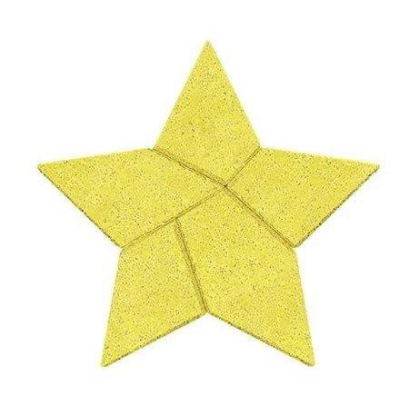 Kamienna układanka gwiazdka