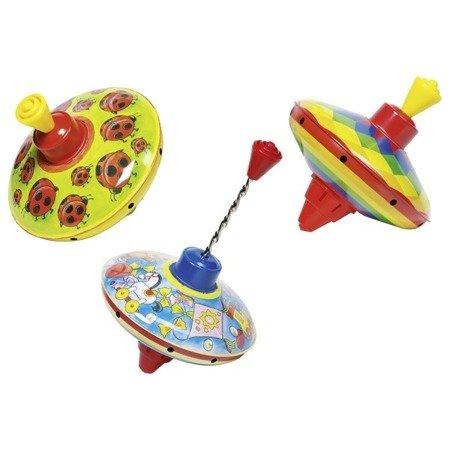 Kolorowy bączek, zabawka dźwiękowa, Goki 53049