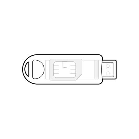 Kwalifikowany podpis elektroniczny CenCert na minikarcie wielkości SIM – zestaw z czytnikiem TOKEN