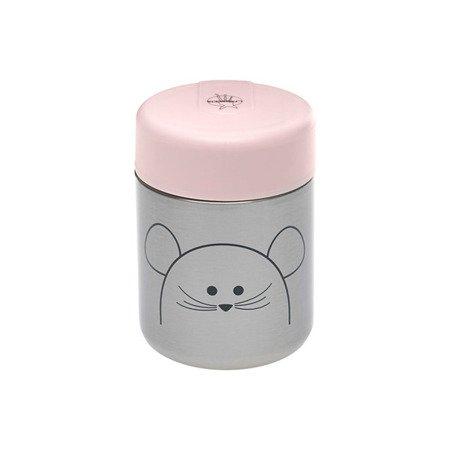 Lassig Pojemnik-termos na posiłki Little Chums Mysz