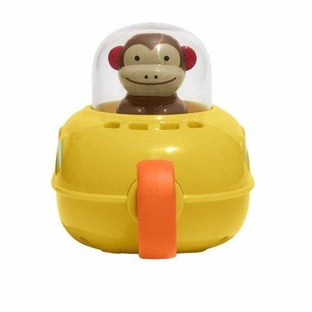 Małpka Zoo w łodzi podwodnej