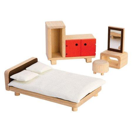 Mebelki dla lalek Sypialnia, Plan Toys PLTO-7349