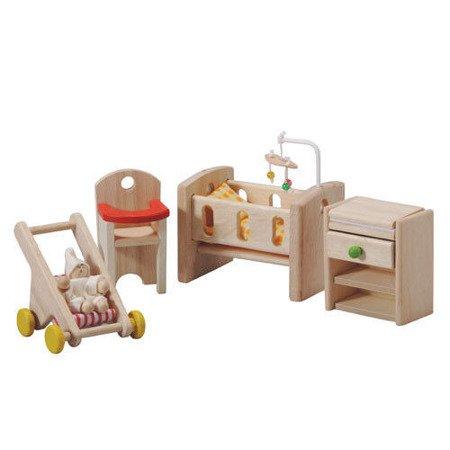 Mebelki dla lalek, pokój niemowlaka, Plan Toys®
