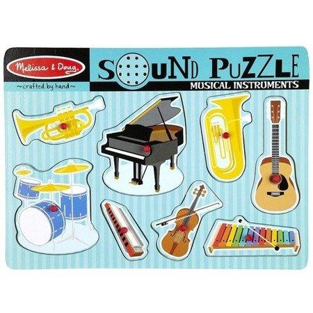 Melissa Puzzle Dzwiękowe Instrumenty Muzyczne, MD10732