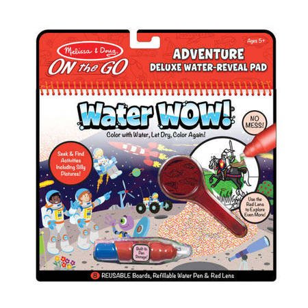 Melissa, Wodna Kolorowanka Water Wow! Deluxe, Przygody
