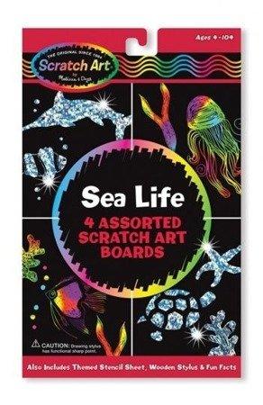 Melissa and Doug, Zestaw do Grawerowania Sea Life