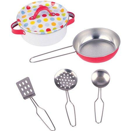 Metalowe kolorowe garnki do gotowania, Goki