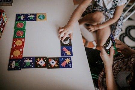 Mudpuppy Gra Domino Kosmos 28 elementów 3-8 lat