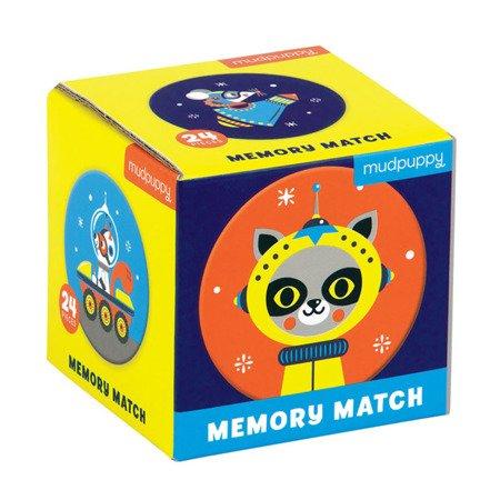 Mudpuppy Gra Mini Memory Kosmos