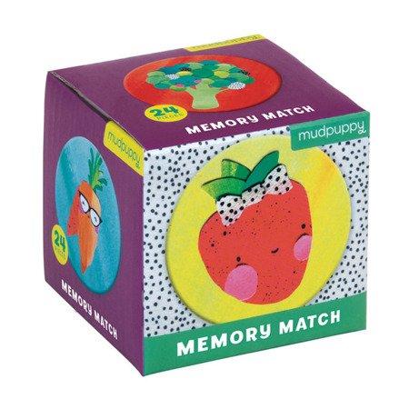 Mudpuppy Gra Mini Memory Owoce i warzywa