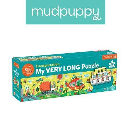 Mudpuppy Metrowe puzzle Transport 30 elementów 3+