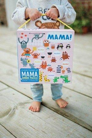 Mudpuppy Puzzle podłogowe Jumbo Mama 25 elementów 2+
