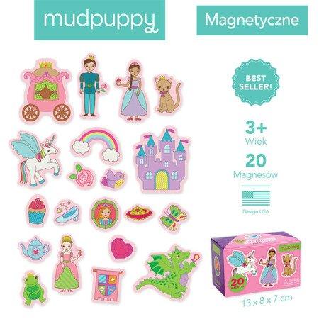 Mudpuppy Zestaw magnesów Księżniczka 20 elementów