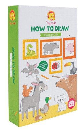 Nauka Rysowania: Królestwo zwierząt