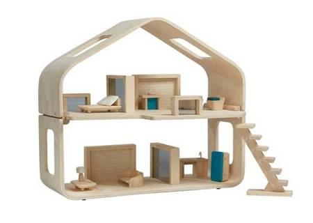 Nowoczesny domek dla lalek, Plan Toys