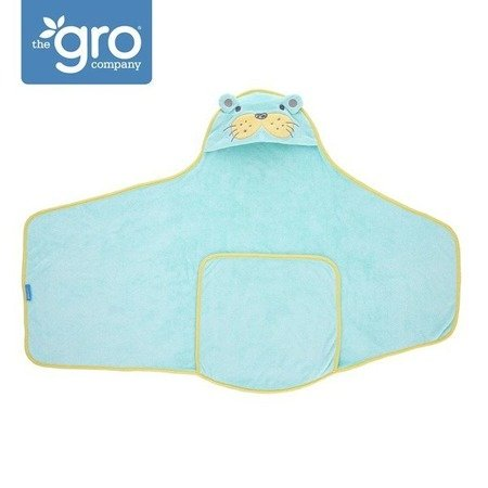 Otulacz-ręcznik Groswaddledry Sam the Sea Lion 0-6 miesięcy, GRO Company