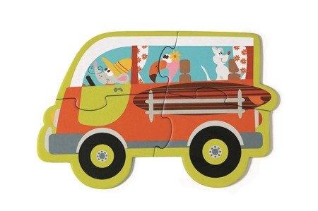 Pierwsze Puzzle Pojazdy - Nowość 2017, Scratch