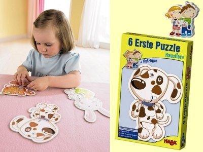 Pierwsze puzzle - Zwierzątka