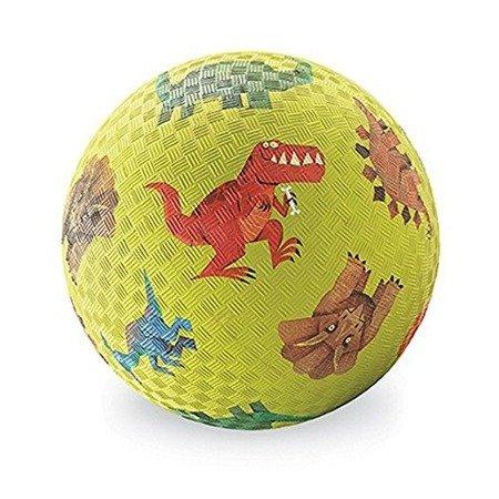 Piłka 5'', 13cm, wzór Dinozaury, Crocodile Creek