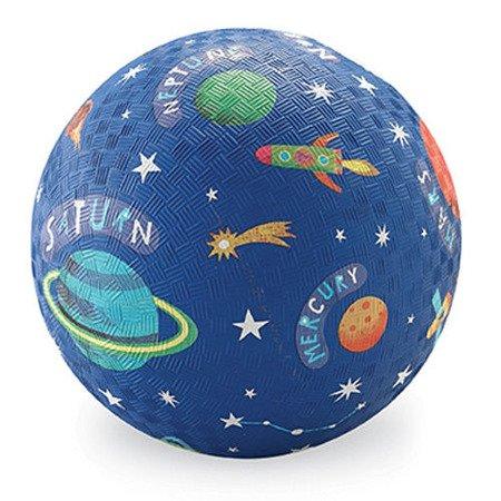 Piłka 7'', 18cm, wzór Układ Słoneczny, Crocodile Creek