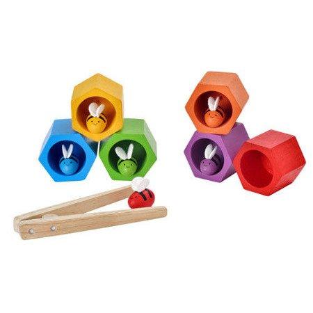 Plaster miodu z pszczółkami zabawka zręcznościowa, Plan Toys PLTO-4125