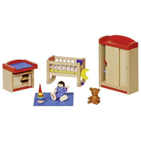 Pokój niemowlaka do domu dla lalek, GOKI-51905
