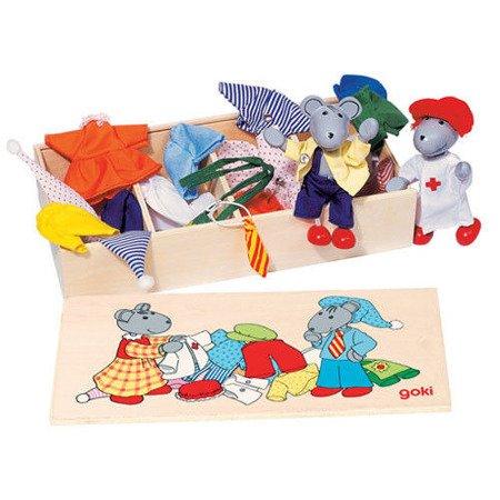 Przebieranka myszek, zabawa w ubieranie postaci, Goki SO 271