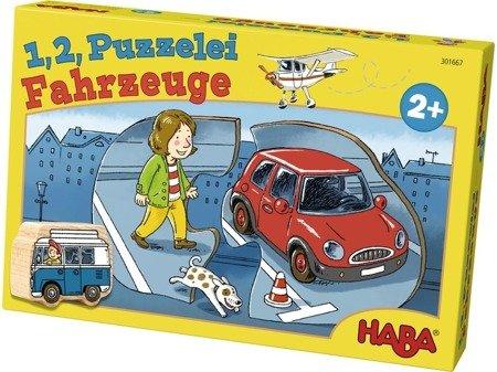 Puzzle 1, 2, Pojazdy