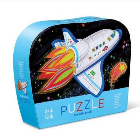 Puzzle 12 el., Rakieta CC