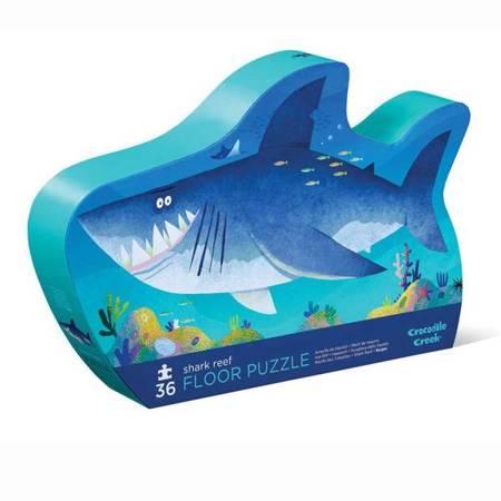 Puzzle 36 el. Rafa z rekinami, CC
