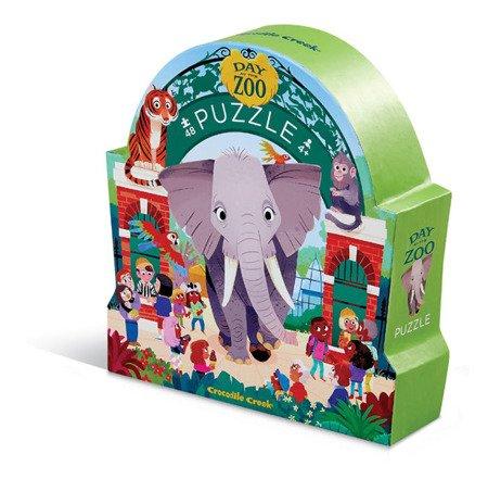 Puzzle 48 el., Dzień w Zoo