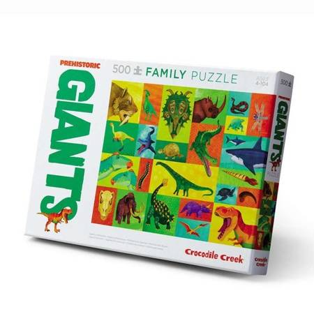 Puzzle 500 elem. Prehistoryczni Giganci