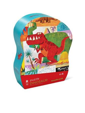 Puzzle 72 el., motyw Dinozaury, Crocodile Creek