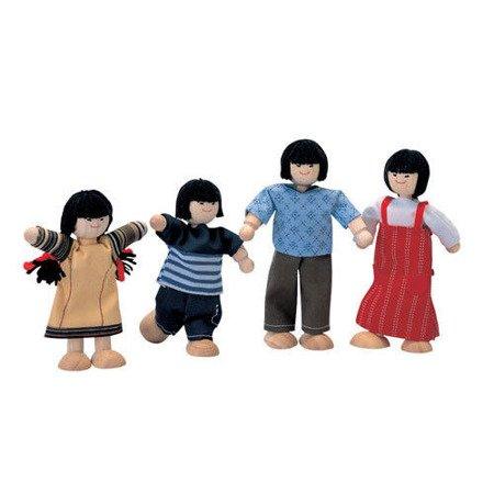 Rodzina lalek w typie azjatyckim, do domku dla lalek, Plan Toys®