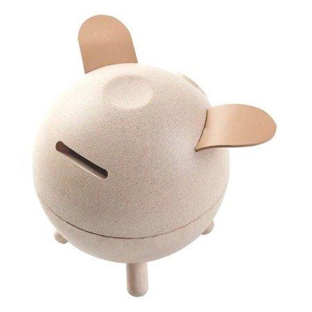 Skarbonka świnka, kolor naturalny | Plan Toys®