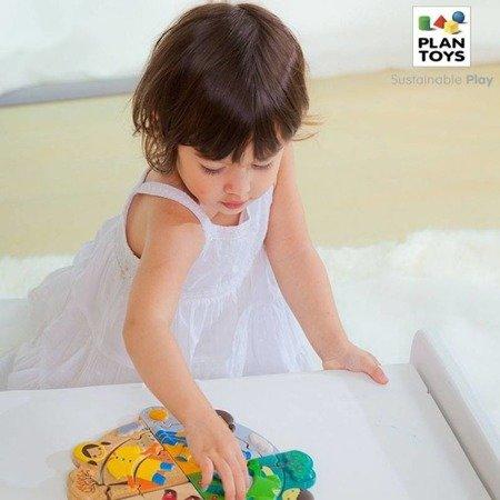 Układanka, puzzle, Ubranka na każdą porę roku, Plan Toys®
