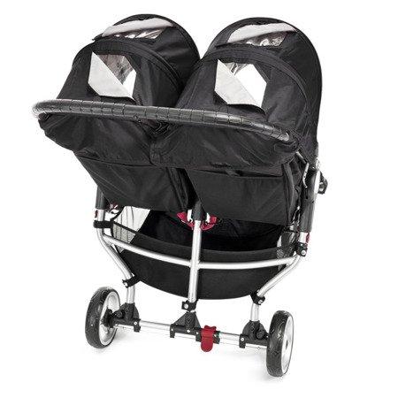 Wózek CITY MINI DOUBLE BLACK/GRAY 12410 Baby Jogger+pałąk